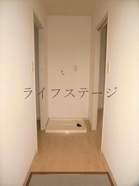 室内洗濯置き場