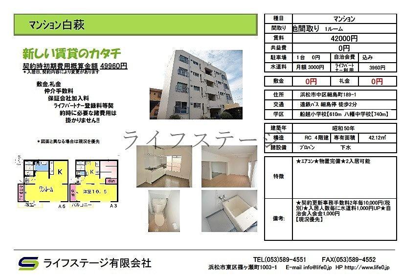 細島町1ルームマンション成約のお知らせ