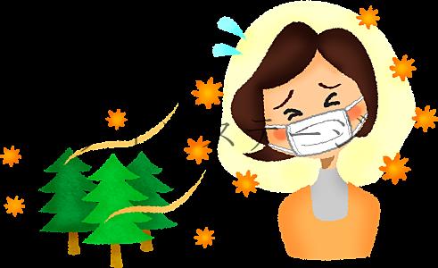 花粉症が辛い・・・